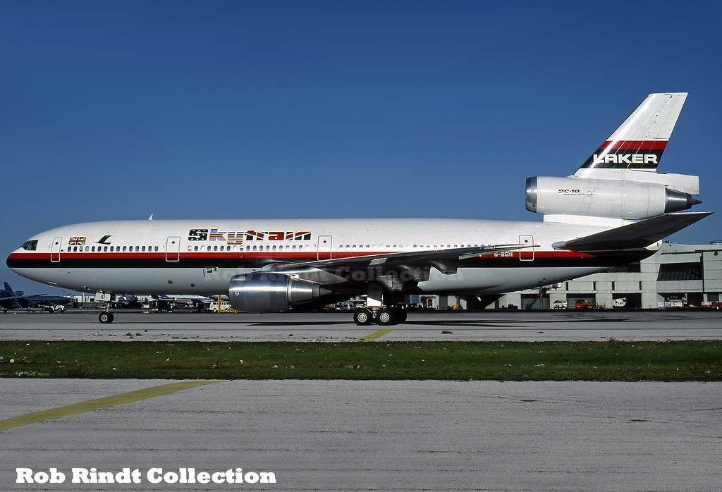 Laker Airways DC-10-30 G-BGXI