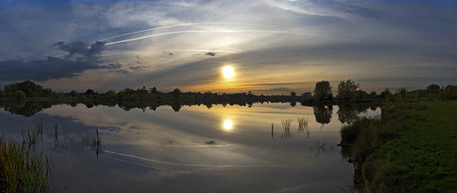 canon6d sunset landscape waterscape lake watee reflections sky clouds sun nature outdoors outside uk cambridgeshire