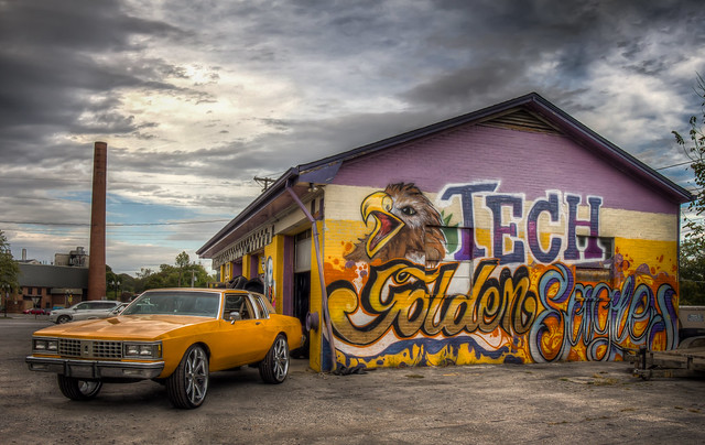 Tech Golden Eagles and an '85 Buick