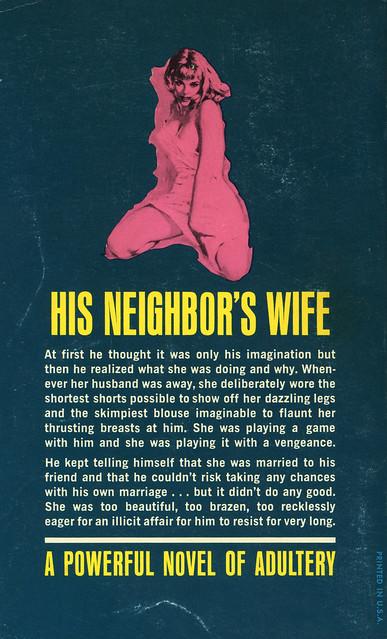 Midwood Books 33-639 - Roy Peterson - The Girl Next Door (back)