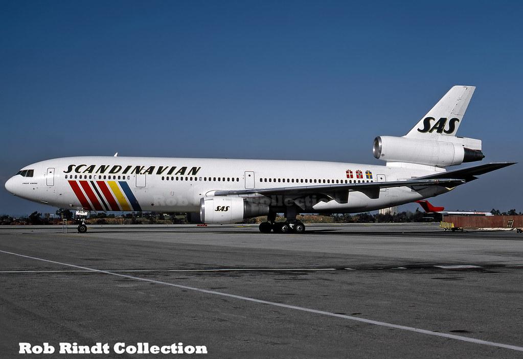 S.A.S. DC-10-30 LN-ALN