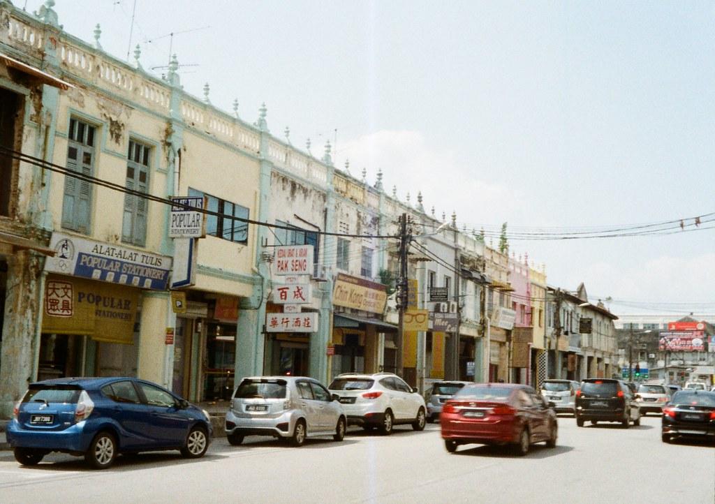 フイルムの似合う街、峇株巴轄(バトパハ)の画像