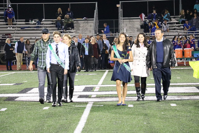 2019 LOHS Homecoming court
