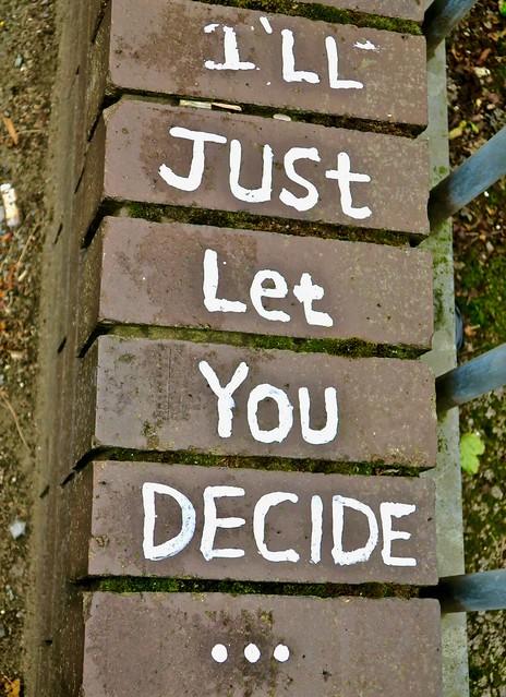 You Decide, Manchester, UK