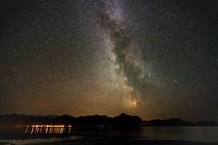 Milky Way over Senja
