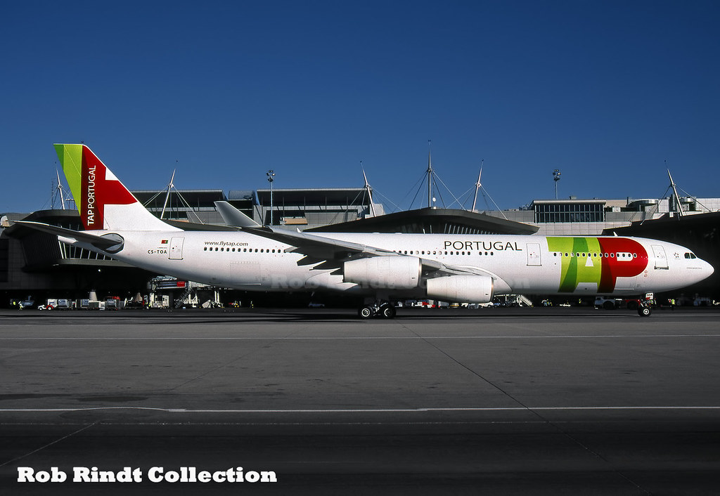TAP - Air Portugal A340-312 CS-TOA