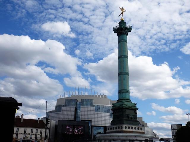 Plaza de la Bastilla - París