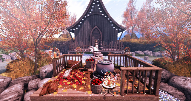 Cozy deck for witches ♥