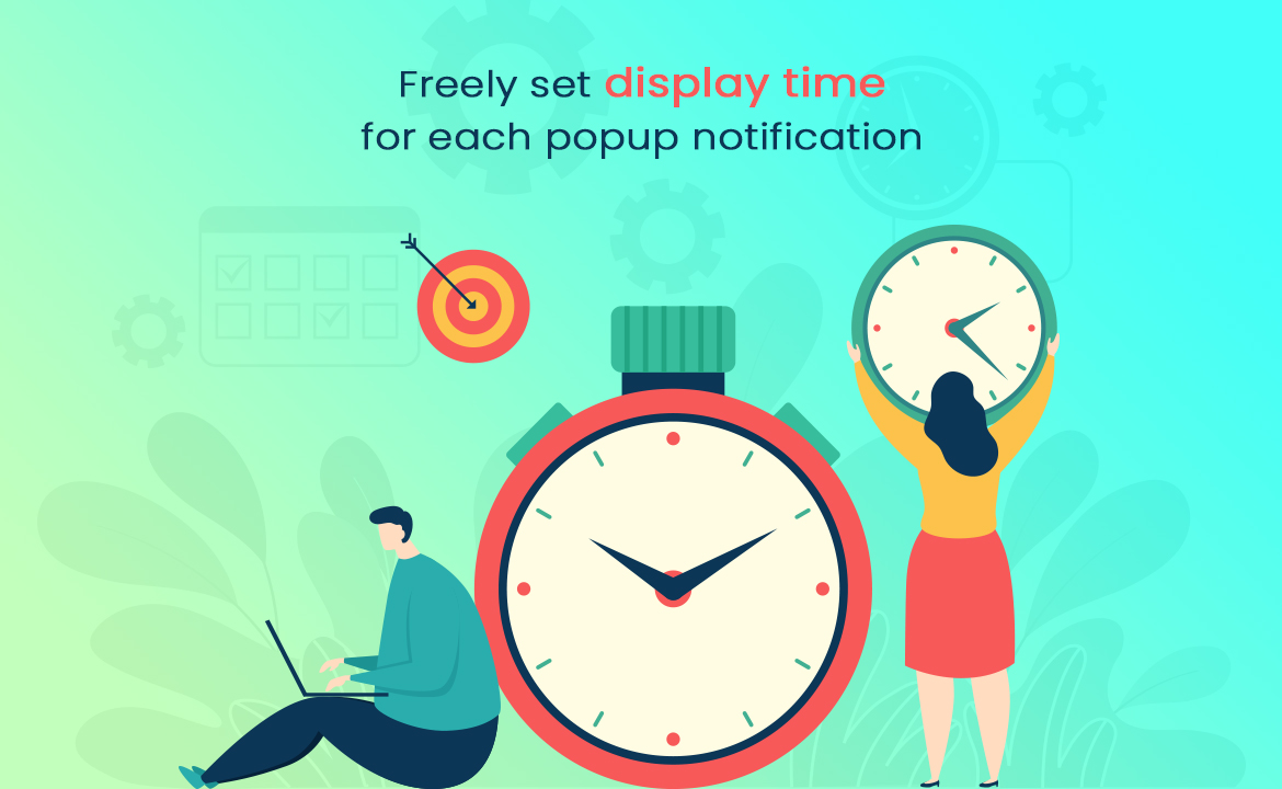 leo popup sale free prestashop module - set time to display sale notification
