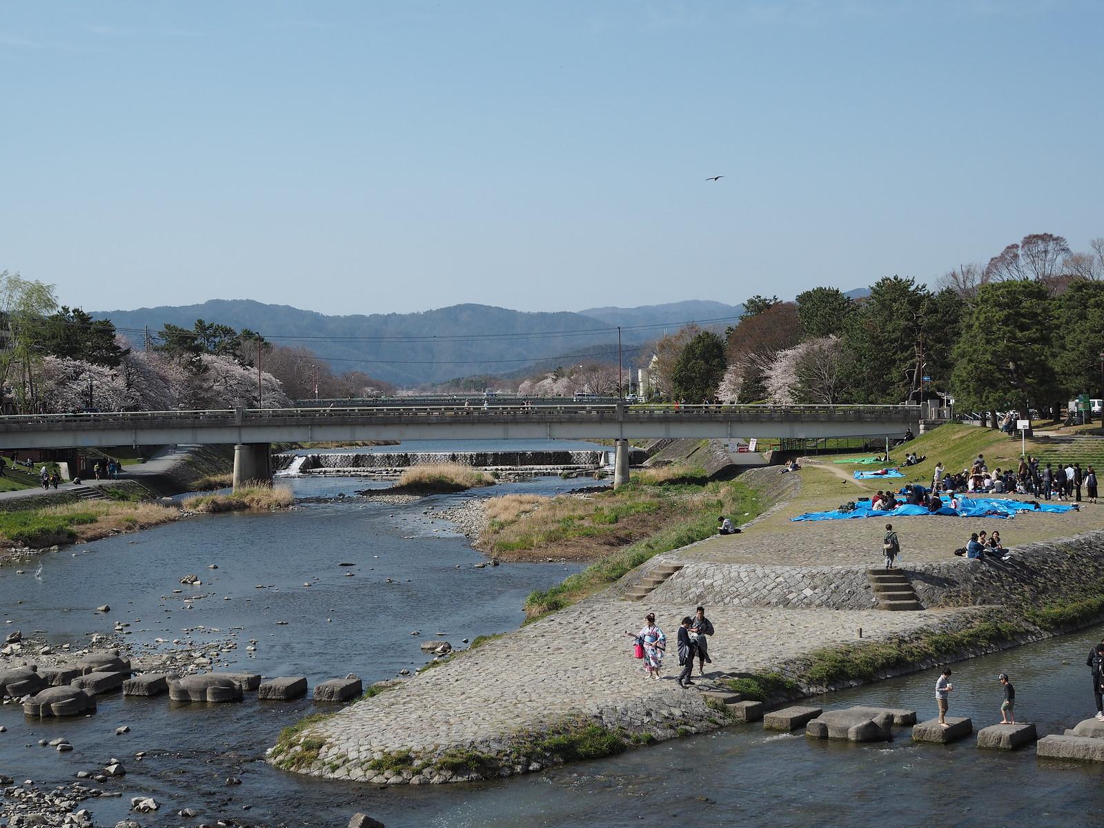 京都 鴨川デルタ