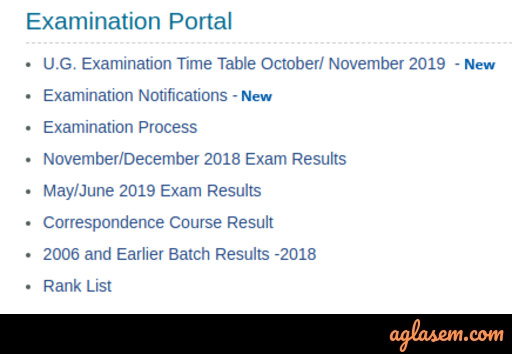 Managalore University Time Table