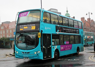 Arriva North East: 7631 / YJ61 OBD
