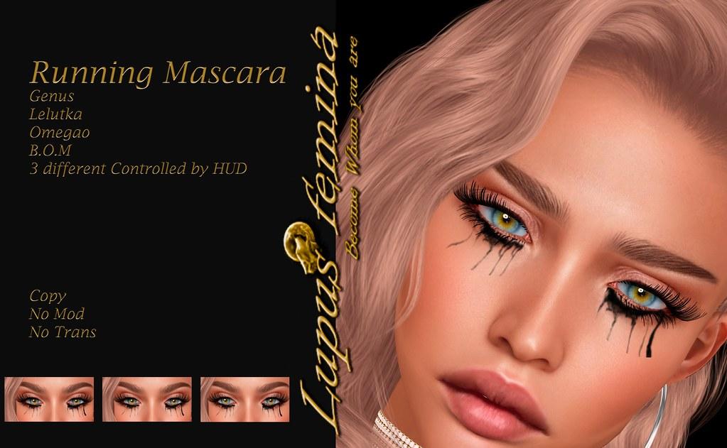 """Lupus Femina"" Running Mascara – Genus, Lelutka, Oemga"
