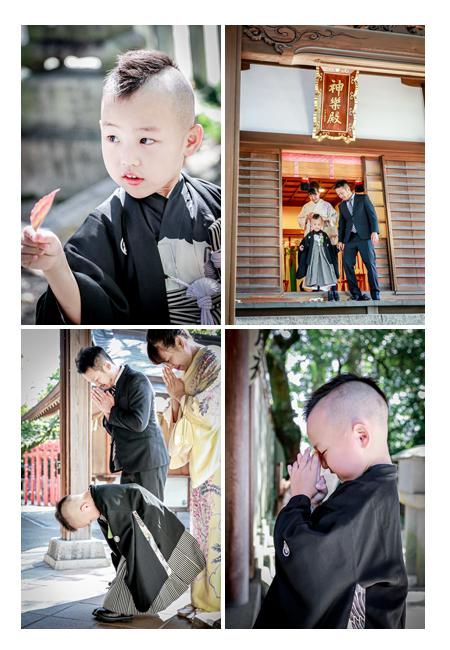 深川神社(愛知県瀬戸市)へ七五三詣り ご祈祷