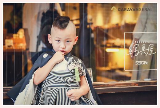 アンティーク着物 男の子 5歳