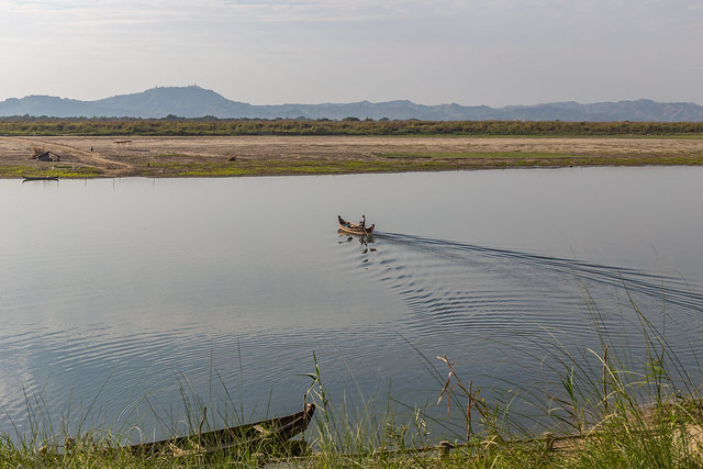 view on the Irrawaddy river