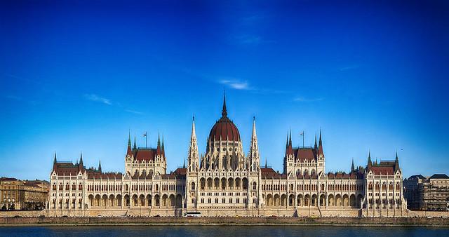 Hungary - Budapest - Houses of Parliament