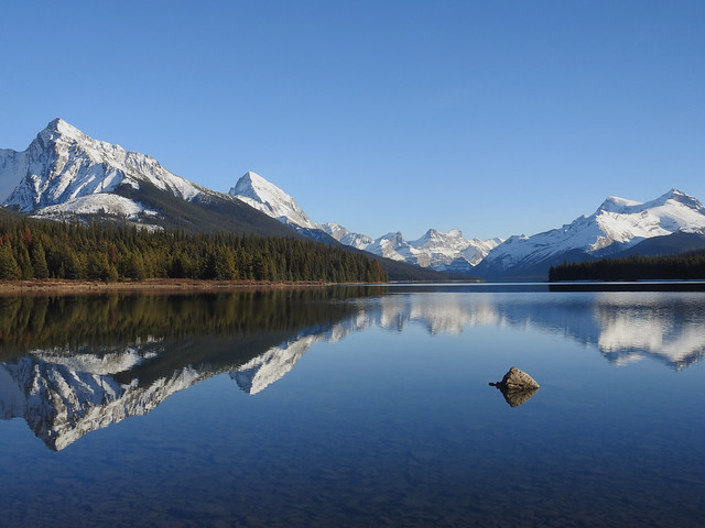 The Shyish Side of Lake Maligne [EXPLORED]