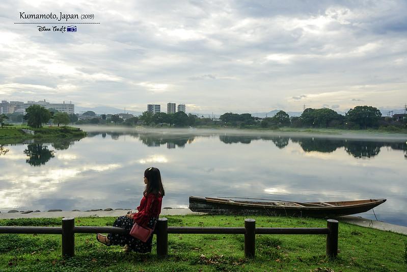 2019 Japan Kyushu Kumamoto Lake Ezu