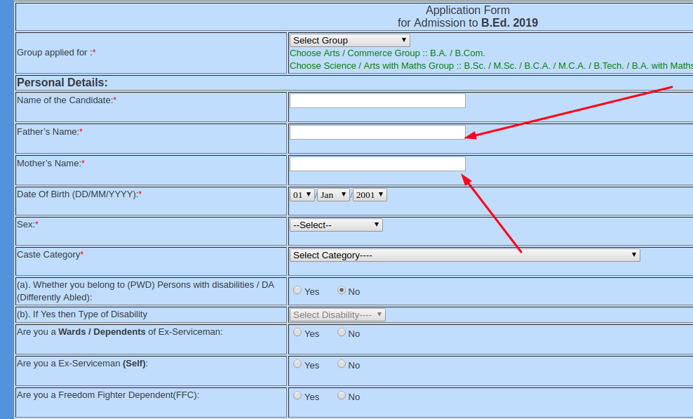 You can register yourself by using personal details