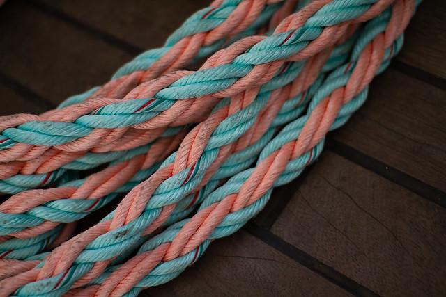 Pastel rope