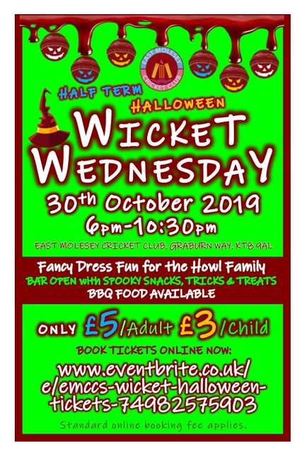 EMCC wicket wednesday halloween