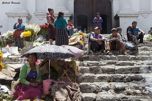 Escalinatas - Chichicastenango