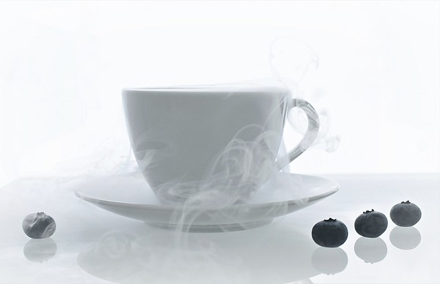 The steaming cup of dreams...