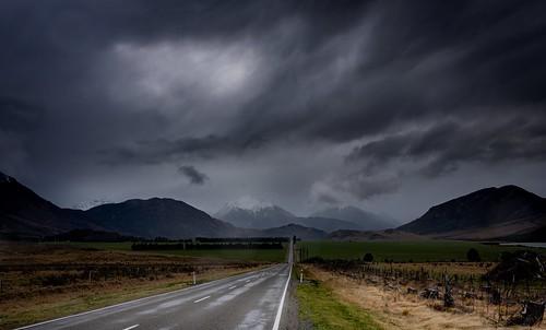 A wet day at Arthur's Pass. NZ