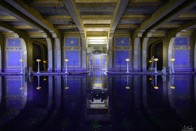 Roman Pool in Hearst Castle - California - USA