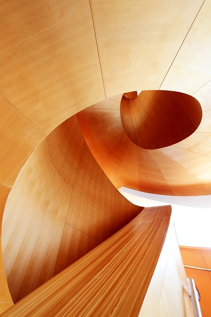 The Art Gallery of Ontario's spiral staircase