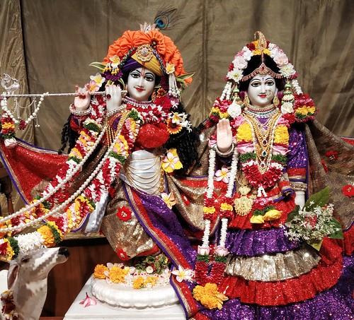 ISKCON Pune Camp Deity Darshan 12 Oct 2019