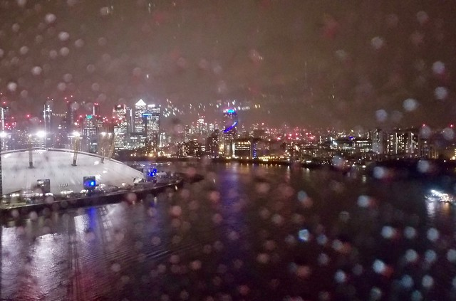 Rainy night in Docklands