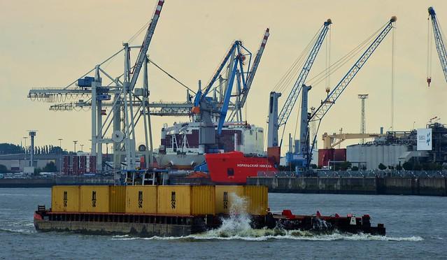 Hamburg - Barge