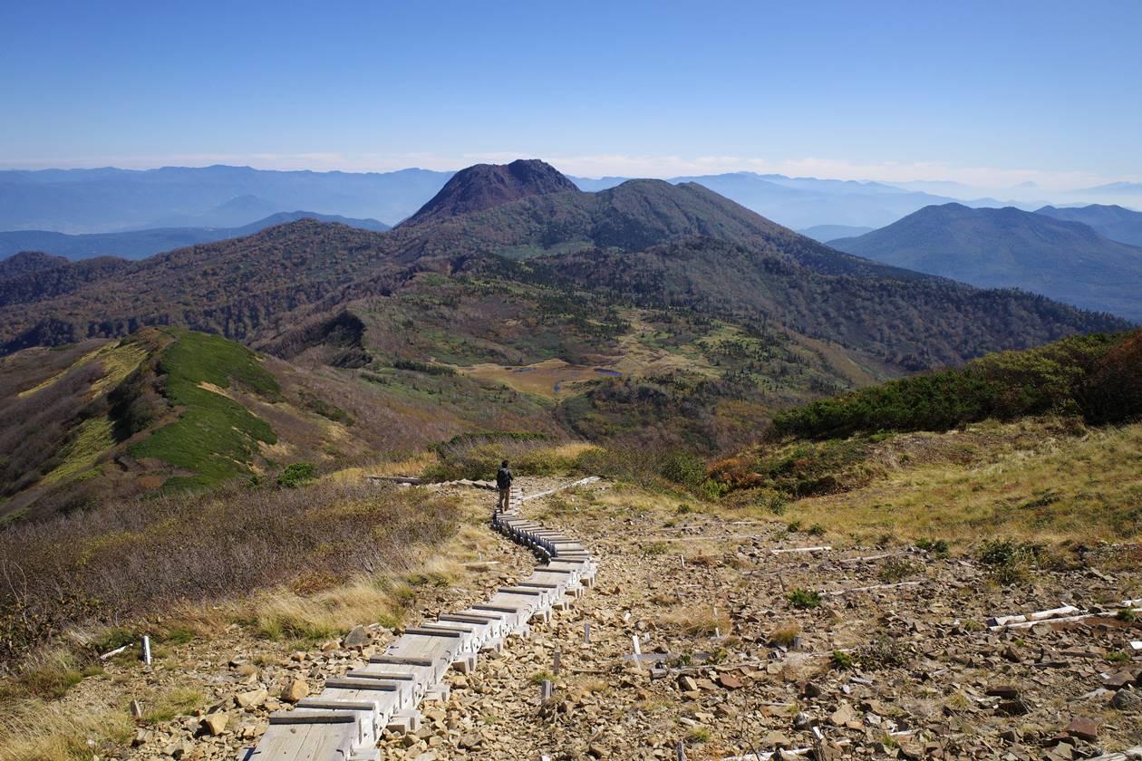 火打山から妙高山の展望