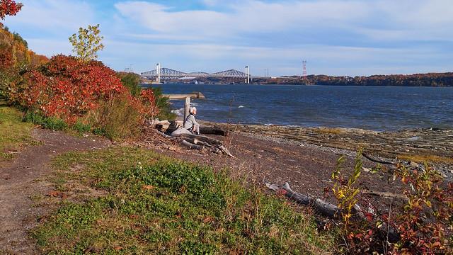 Automne, autumn - Relaxation devant le fleuve Saint-Laurent,PQ, Canada - 53757