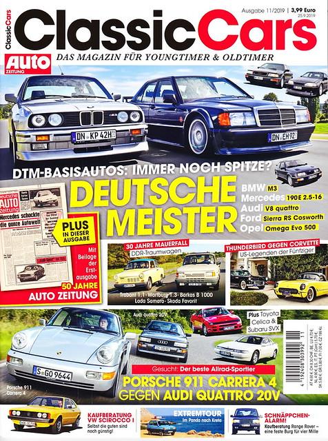 Auto Zeitung - Classic Cars 11/2019