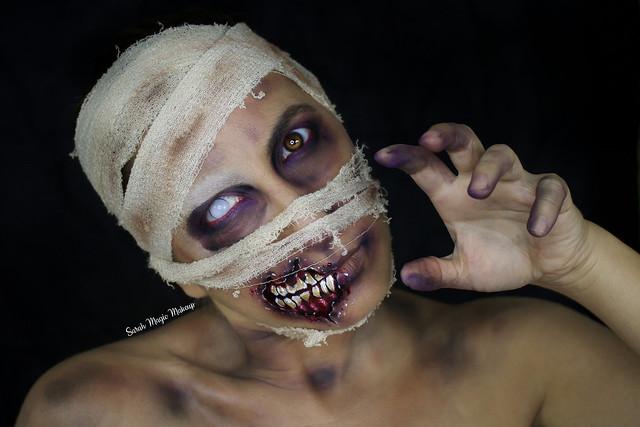 The Mummy - Makeup