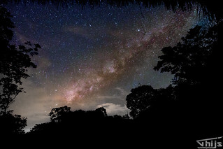 Milkyway captured @ Bomboo lodge, Amazone, Ecuador