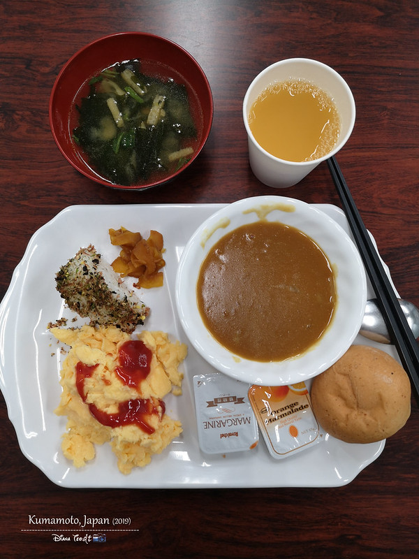 2019 Japan Kyushu Toyoko Inn Kumamoto Shin-shigai Breakfast