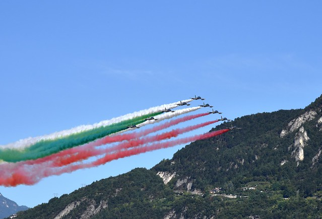 Trento - PAN - Frecce Tricolori