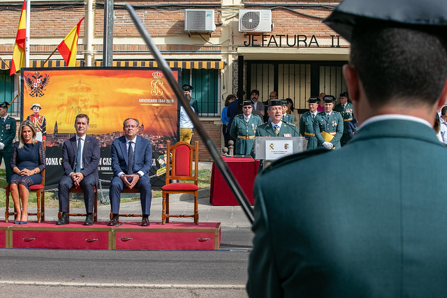 Acto institucional del Día de la Guardia Civil
