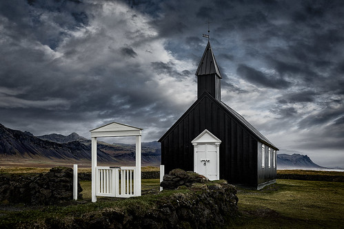 The Black Church - Snæfellsnes Peninsula - Iceland