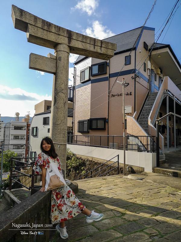 2019 Japan Kyushu Nagasaki One-Legged Torii of Sanno Shrine