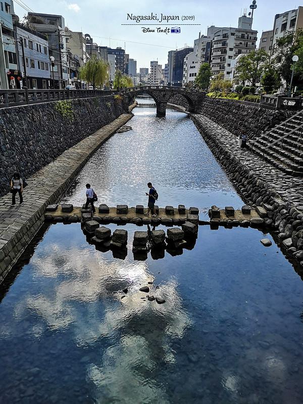 2019 Japan Kyushu Nagasaki Meganebashi (Spectacle Bridge)