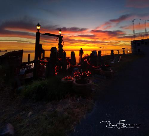 sunrise potomacriver colonialbeach virginia morning saturday