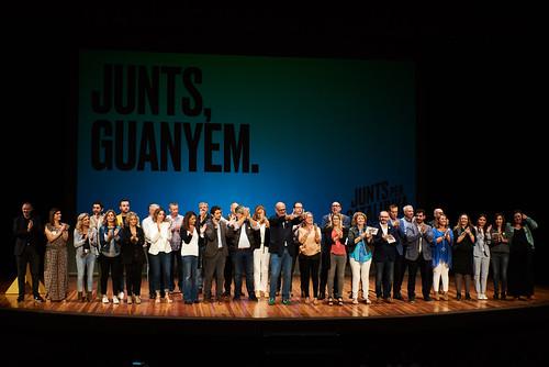 Acte Junts, guanyem! a Terrassa (12/10/19)