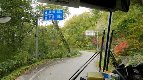 会津バス(要予約)車窓 国道352号