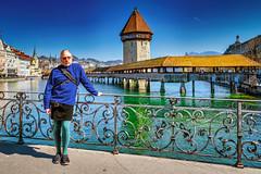 Luzern/Schweiz 21. März 2019 - Kapellbrücke