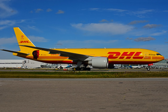 D-AALL - DHL  (Aerologic - Bryan Adams - 50 Y)